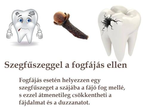 fogfájásra