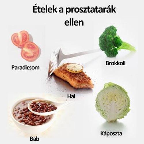 a prosztata méretét csökkentő ételek