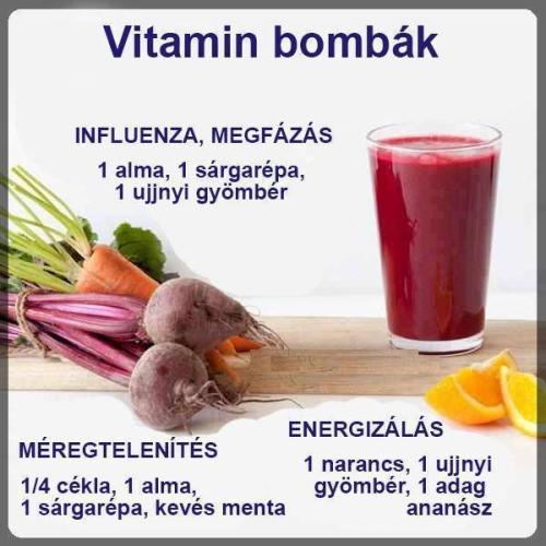vitaminbombák télre